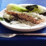 Thai Steamed Salmon
