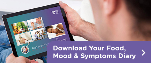 Download your Food, Mood and Symptoms Diary